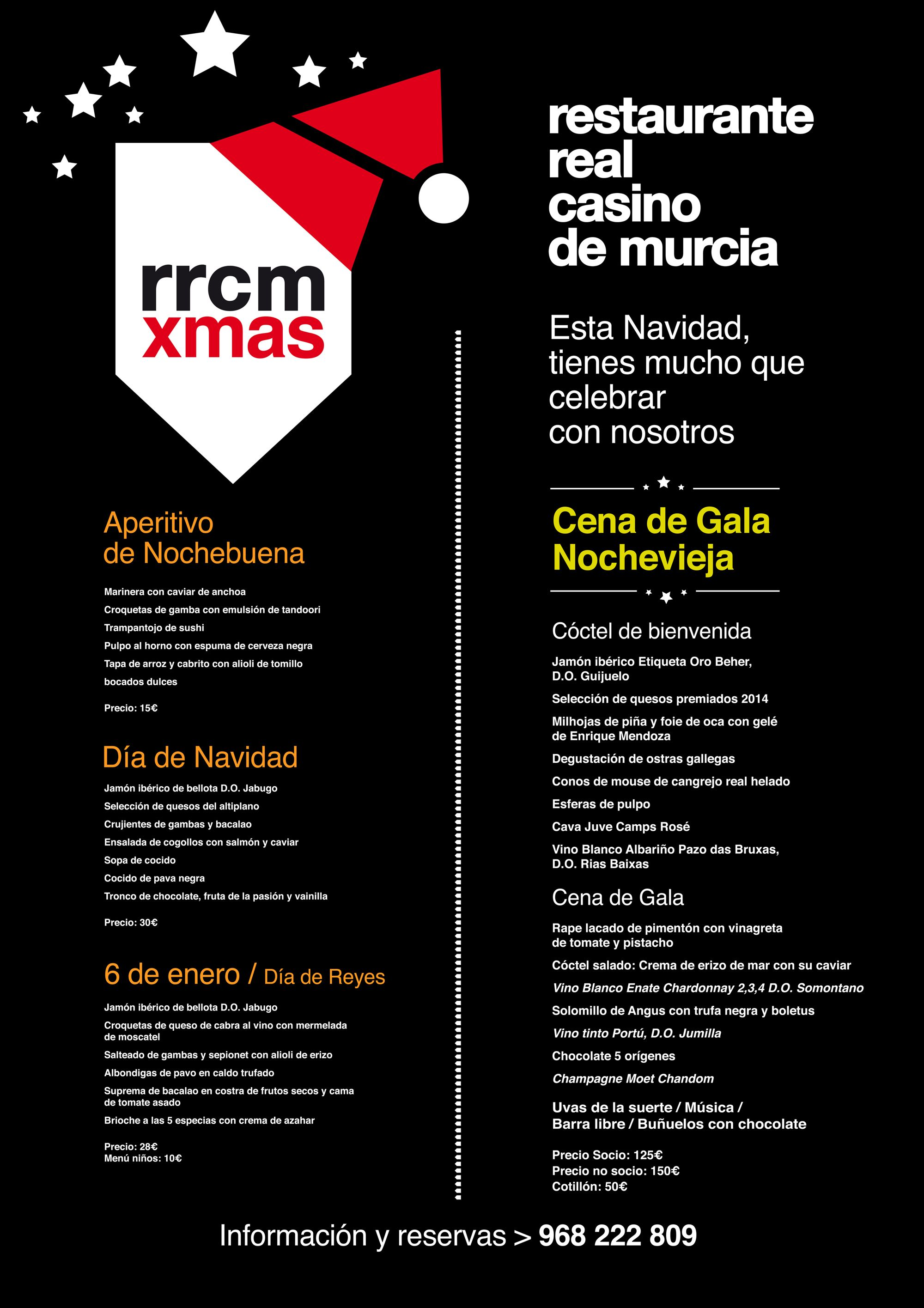 Real casino murcia restaurante real casino de murcia especial navidad - Restaurante para navidad ...