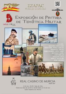 CARTEL A3 EXPOSICION PINTURA casinol