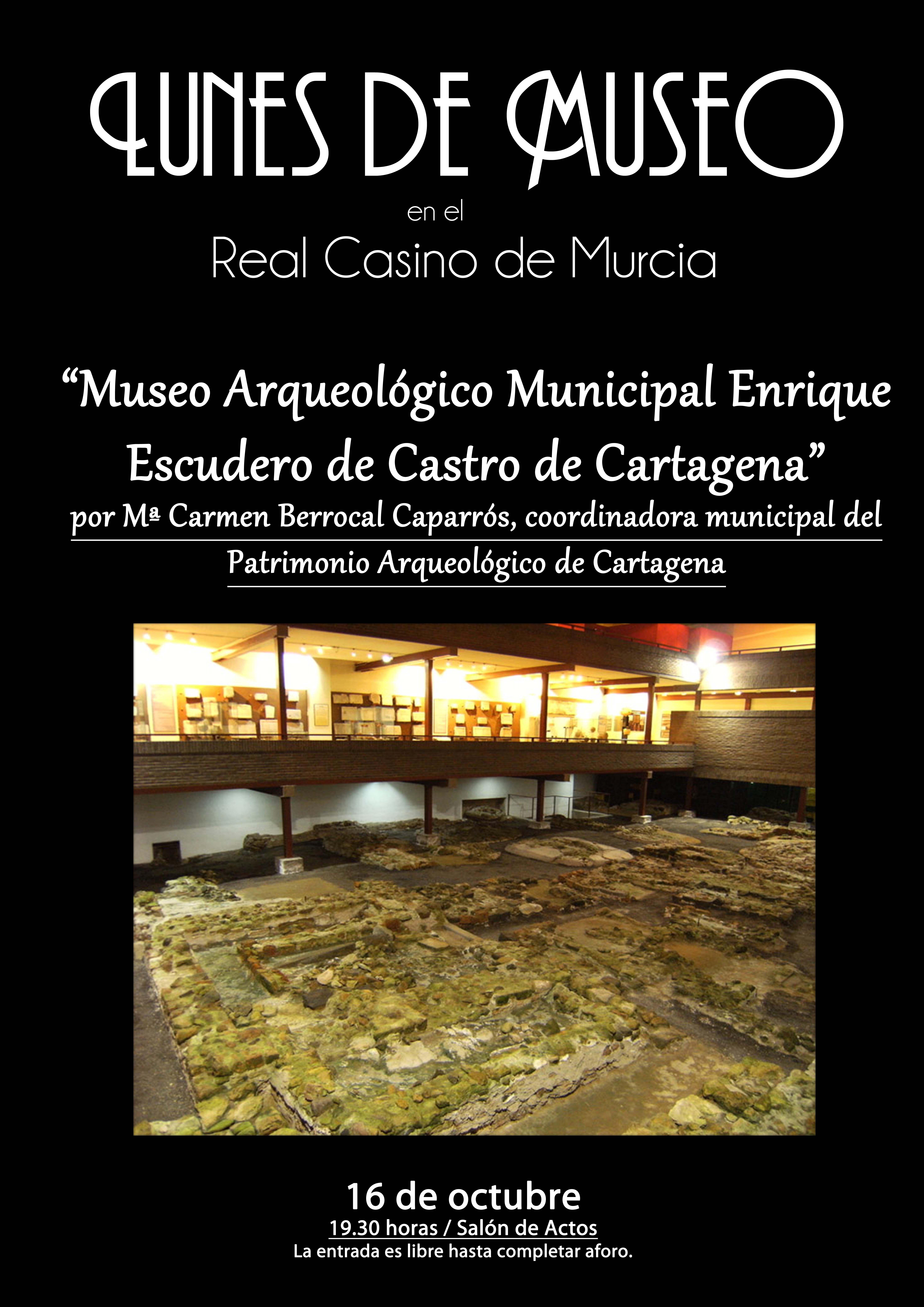 Lunes Museo Enrique Escudero Cartagena