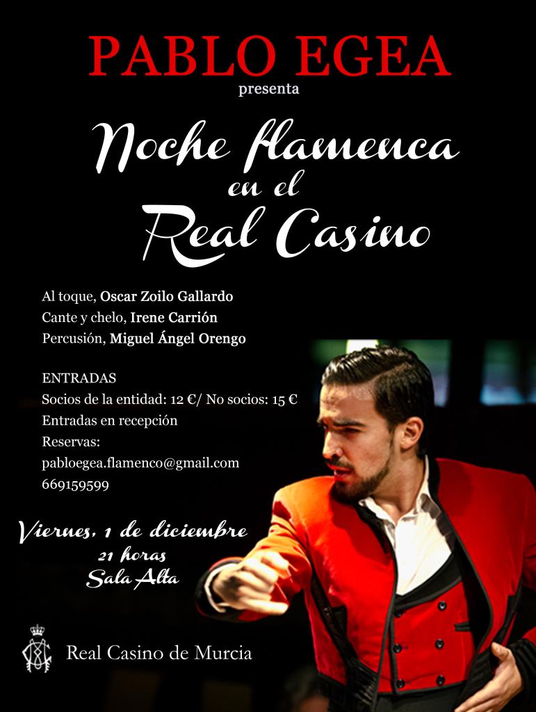 Noche Flamenca Pablo Egea_Rojo