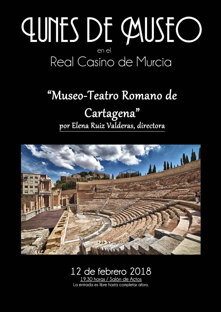 Lunes Museo Teatro Romano Cartagena