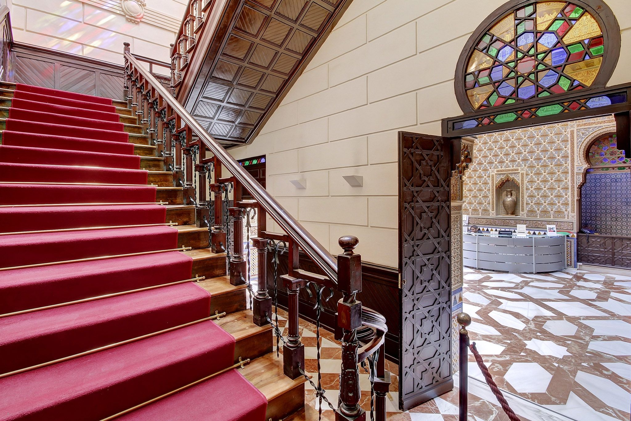 escalera sala alta
